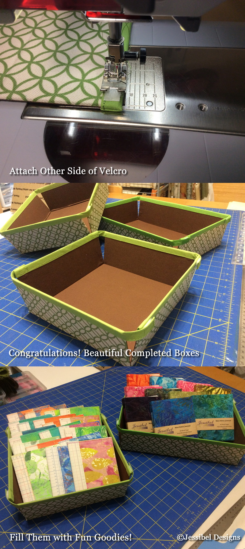 Collapsible Berry Boxes by Jessibel Designs